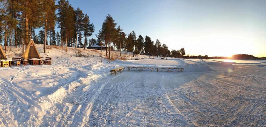 Vackra vinterland