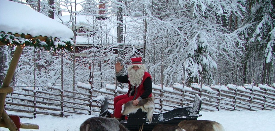 Julparken öppen - Lycksele Djurpark