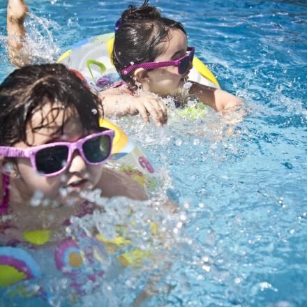 Lyllo på simskoleavslutning